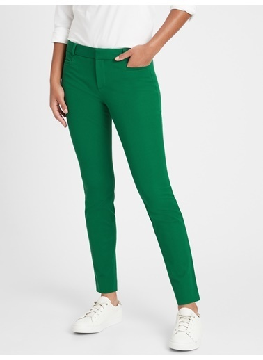 Banana Republic Sloan Skinny-Fit Pantolon Yeşil